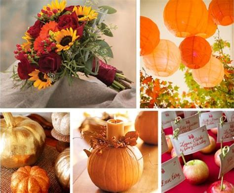 harvest wedding decorations fall wedding theme