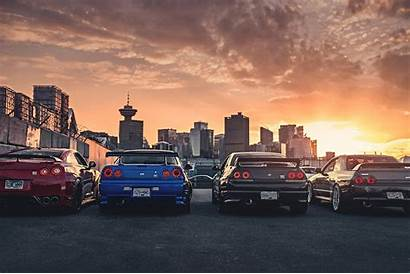 Skyline Nissan Gt R34 R35 Wallpapers Tuning