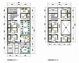 Desain Dan Denah Rumah Minimalis