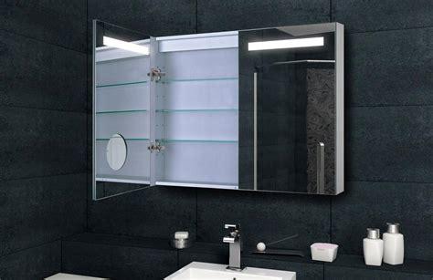 design spiegelschrank mit verdeckter led  cm mit