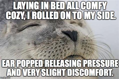Satisfied Seal Meme