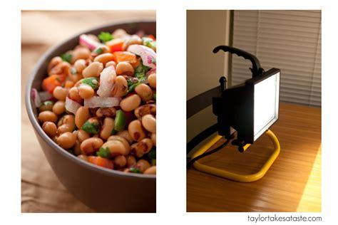 food photography lighting set