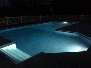 Lumiere Piscine Hors Sol : clairage piscine 56 id es et conseils pour la sublimer ~ Dailycaller-alerts.com Idées de Décoration