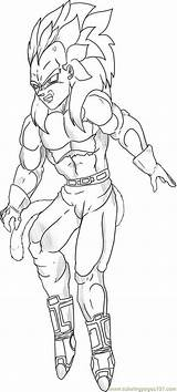 Goku Coloring Coloringpages101 sketch template