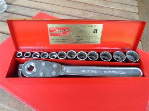 Vintage Set Af vintage sidchrome af socket set 1 2 drive 17