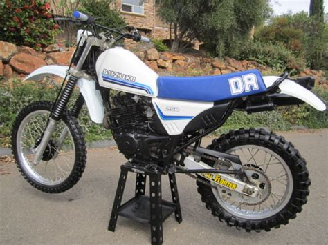 Suzuki Dr250 Enduro Dual Sport Dirt Bike Motorcycle Ahrma