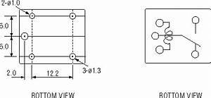 Goodsky miniature spdt pcb relay quasar electronics for Goodsky spdt relay