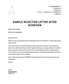 letter to unsuccessful applicant after 33 images 10