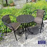 Garden Table And 2 Chairs Set by Europa Fleuretta Bistro Set With San Remo Chairs
