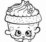 Cupcakes Drawing Cupcake Coloring Pages Printable Simple Getdrawings sketch template