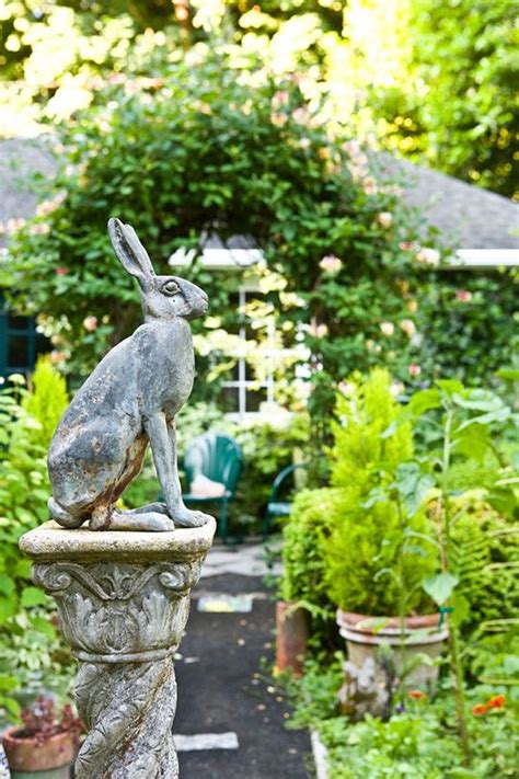 bunny garden statue 17 best images about garden statues decor on