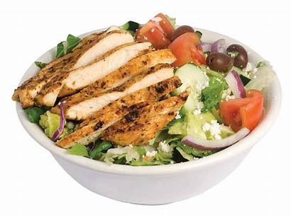 Chicken Salad Salads Greek Regular Menu Bread