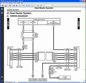 Subaru Seat Wiring Harness Diagram  Subaru  Auto Wiring Diagram
