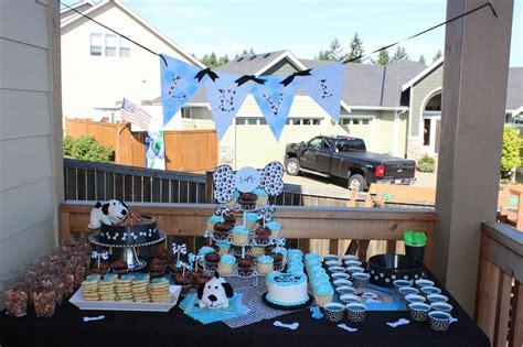 creative levis puppy party