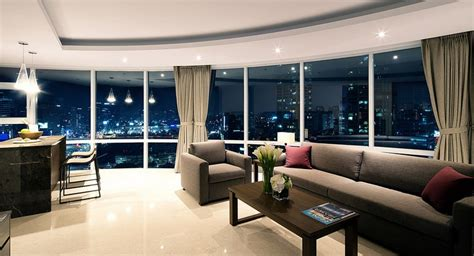 luxurious penthouse apartments fraser place central seoul