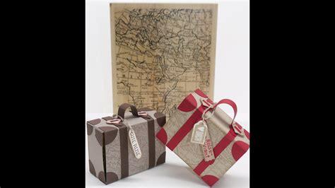 koffer basteln als geschenkverpackung anleitung mit