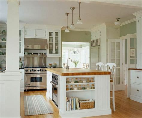 open kitchen islands kitchen island designs cottage style islands and cottages