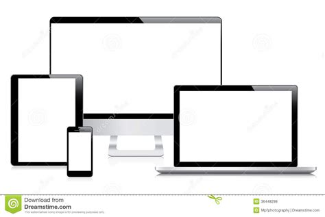 modern smartphone vector vector free modern computer laptop tablet and smartphone vec stock