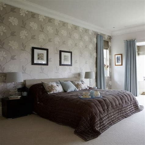 bedrooms with wallpaper and feature walls silk interiors 39