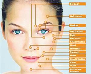 Acne Face Map And Its Explanation