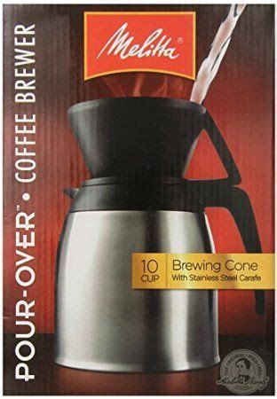 4.8 out of 5 stars 210. Melitta Coffee Maker 10 Cup Pour Over Brewer with Stainless Thermal Carafe * Click on the image ...