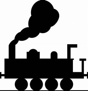 Train Tracks Clipart Black And White | Clipart Panda ...