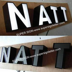 metal sign lettersled sign lettersoutdoor signs and With black channel letters