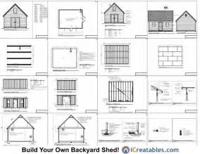 16x20 colonial style shed plans build a large shed