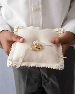 ring bearer pillow ideas you can make on your own martha With how to make a wedding ring pillow