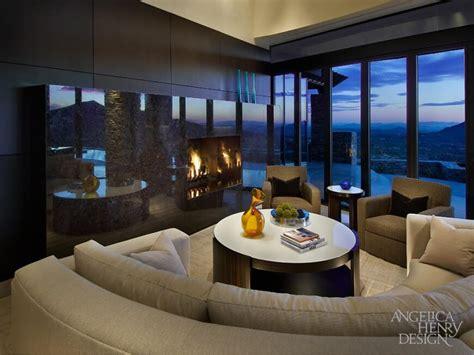 contemporary desert home interior design  angelica henry