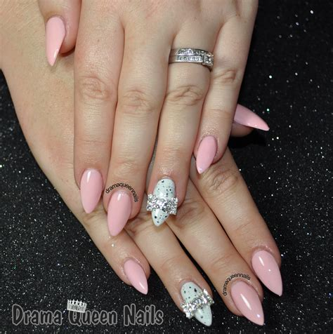 almond nails design drama nails the almond nails experiment