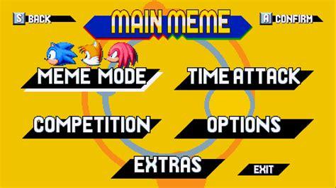 It Meme Sonic Meme Discovery Sonic Mania Mods