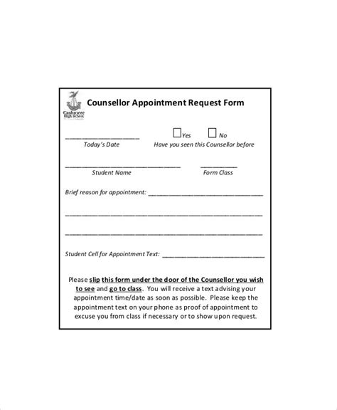 appointment request form teacheng us