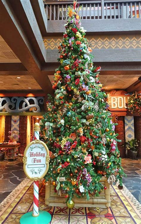 top  disney world resort christmas decorations