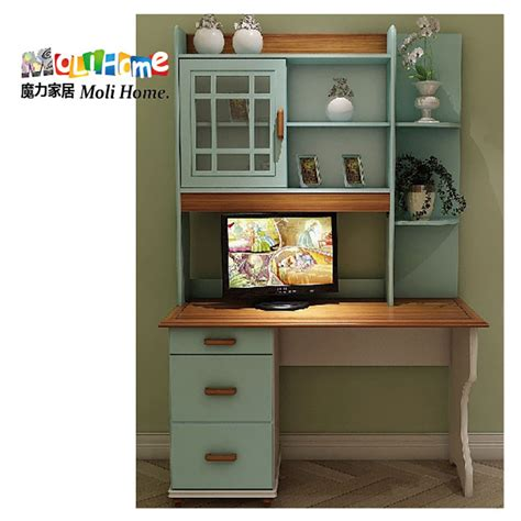 desk and bookshelf combo american village mediterranean combination of solid wood