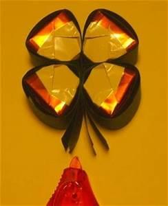 Fröbelstern Basteln Anfänger : gl ckskleeblatt mit k sschen einen gl cksbringer zu silvester basteln basteln rund ums jahr ~ Eleganceandgraceweddings.com Haus und Dekorationen