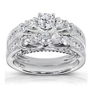 vintage wedding ring sets antique wedding ring set jewelocean