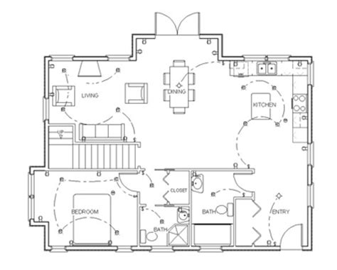 kitchen layouts with island draw floor plans