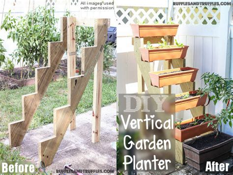 How Build Diy Vertical Planter