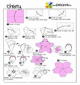 Flower Origami  Cherry Flower