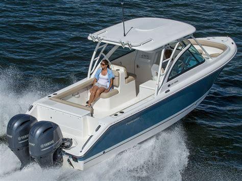 pursuit boats dc  dual console