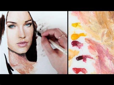 painting skin tones the basics my approach simplified lenadanya youtube