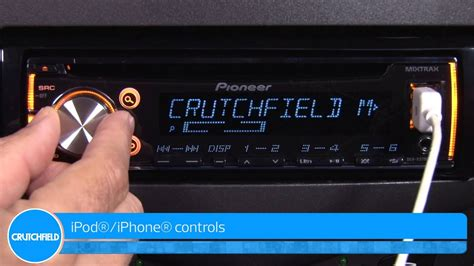 pioneer deh x3700ui car receiver demo crutchfield video youtube