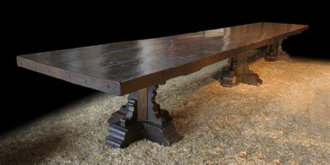 pics  dining tables build   trestle table