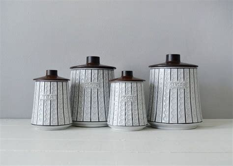 contemporary canisters for the kitchen mid century kitchen canisters ceramic canister set mid 8307