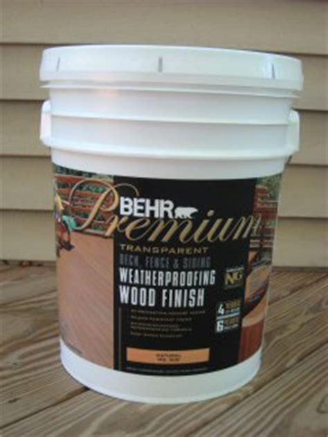 Behr Deck Prep by Behr Premium Deck Fence Weatherproofing Sealer Review