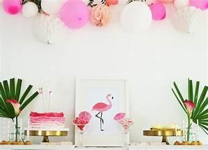 Bärbels Wohn Und Deko Ideen : mottoparty im sommer diy und deko ideen f r eine flamingo party partystories blog ~ Orissabook.com Haus und Dekorationen