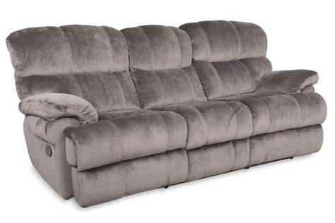 microfiber sectional recliner sofa smoky microfiber power reclining sofa at gardner white