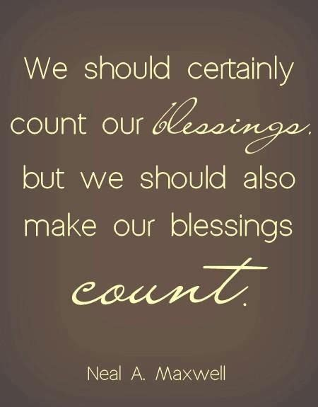 Blessings Quotes Quotes About Counting Your Blessings Quotesgram