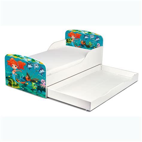 rausfallschutz für kinderbett meerjungfrau kleinkind bett mit lager m 228 dchen junior kinder schlafzimmer ebay